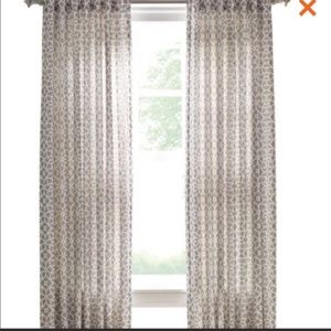 Martha Stewart Full Bloom Blackout Curtains